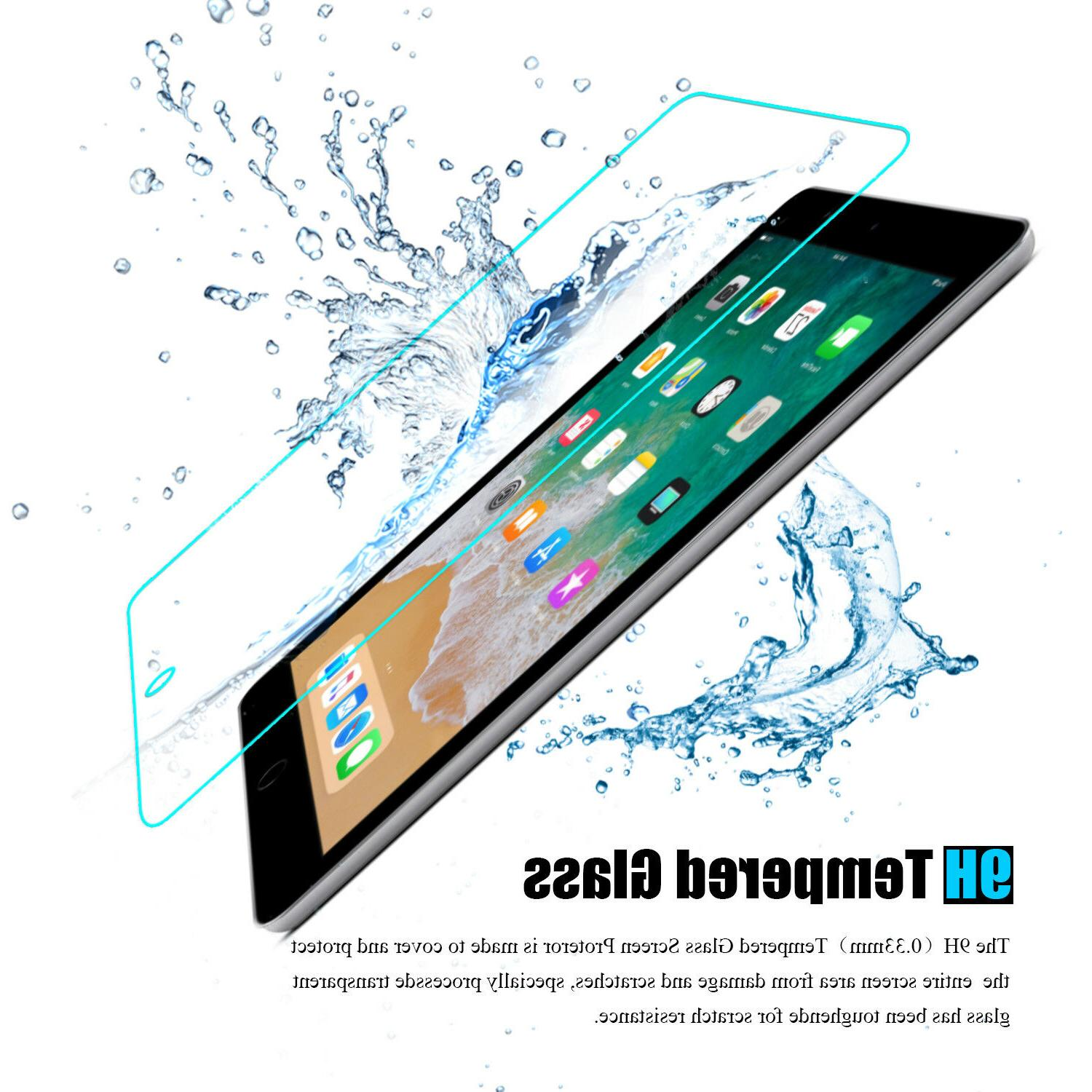 """For Generation 9.7"""" 2018 Clear Tempered Protector"""