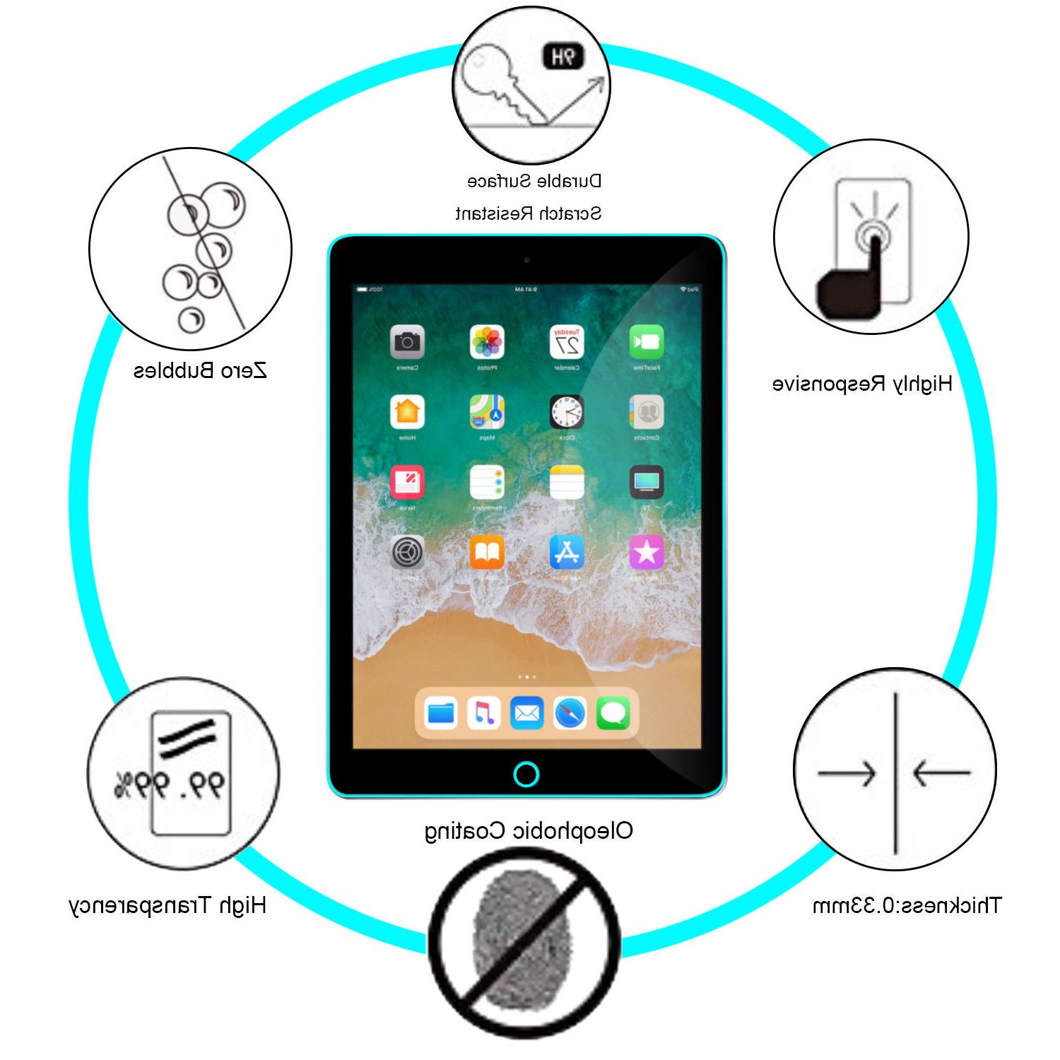 "For New iPad Generation 9.7"" Clear Protector"