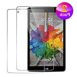 LG G Pad X 8.0 / G Pad III 8.0 2 Pack Screen Protector, Ultr