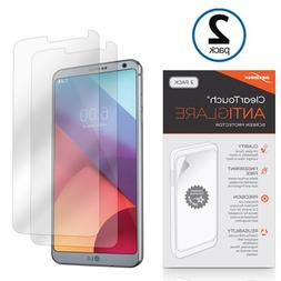 LG G6 Screen Protector, BoxWave ] Anti-Fingerprint Matte Fil