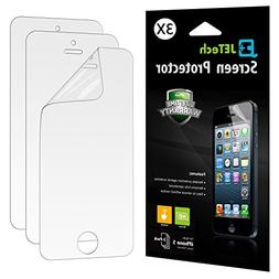 iPhone 5s Screen Protector, JETech 3-Pack iPhone SE 5 5S 5C