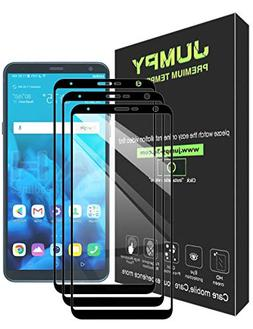LG Stylo 4 Screen Protector, JUMPY  Tempered Glass with Lif