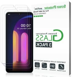 LG V60 ThinQ Screen Protector, amFilm Case Friendly Tempered