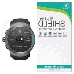 LG Watch Sport Screen Protector RinoGear  Full Coverage Fle
