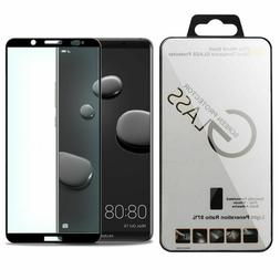 Lots Black Full Cover Tempered Glass Screen Protector For Hu