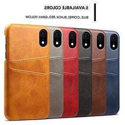 New Luxury Leather Case Cover for iPhone Xs 5.8 inch with Sc