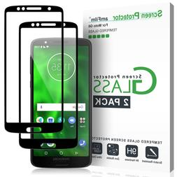 Moto G6 / G6 Play amFilm Full Cover Tempered Glass Screen Pr