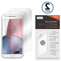 Motorola Moto G Plus Screen Protector, BoxWave ] Anti-Finger