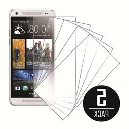MPERO Collection 5 Pack of Clear Screen Protectors for HTC O