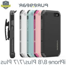 NEW PureGear Dualtek Extreme HIP Case for iPhone 8 / 7 / 8 P