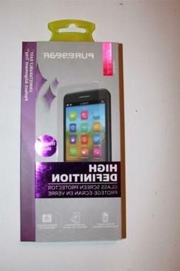 New  PureGear HD Tempered Glass Screen Protector for iPhone