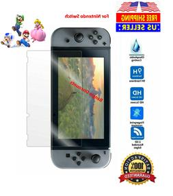 New Nintendo Switch Premium Tempered Ultra Clear Glass Scree