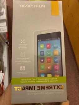 New OEM PureGear Extreme Impact Screen Protector For LG Q7+