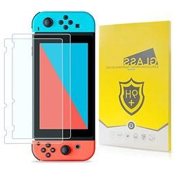 Nintendo Switch Screen Protector, TJS   [Works While Do