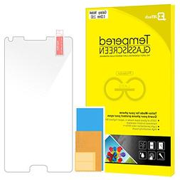 Note 4 Screen Protector, JETech Premium Tempered Glass Scree