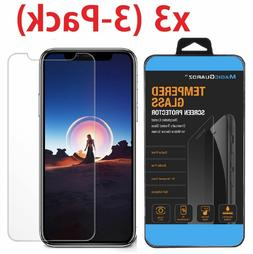 Phone X / X Screen Protector 3-Pack HD Hardness Tempered Gla