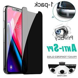 Phones Mobile Phone LCDs 1X Privacy Anti-Spy Tempered Glass