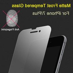 Matte Frost Tempered Glass Screen Protector For iPhone X / X