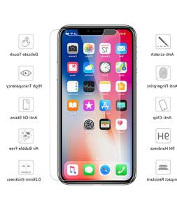Premium Tempered Glass Screen protectors for iPhone X XS XR