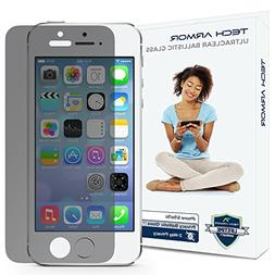 iPhone 5 Glass Screen Protector, Tech Armor Privacy Ballisti