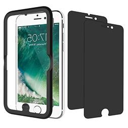 JETech Privacy Screen Protector for Apple iPhone 8 Plus, iPh