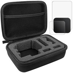 Protective Case for GoPro Hero 5 6 with Lens & Screen Protec