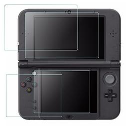 Screen Protector Compatible Nintendo New 3DS XL, AFUNTA 4 Pc