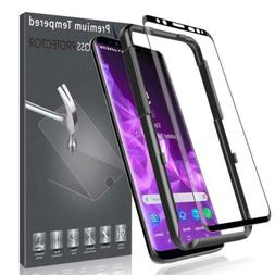 LK Screen Protector for Samsung Galaxy S9, Tempered Glass  w