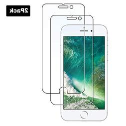 AeapYar Screen Protector Compatible with iPhone 8 Plus 7 Plu