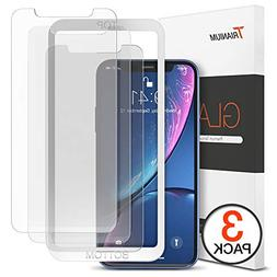Trianium  Screen Protector Designed for Apple iPhone XR  Pre