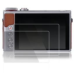 Screen Protectors for Canon G7X Mark II G9XII, AFUNTA 2 Pack
