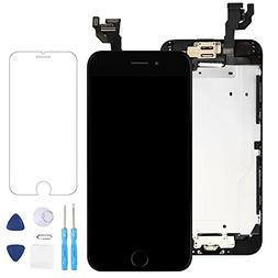 "Screen Replacement for iPhone 6 Black 4.7"" LCD Display Touch"