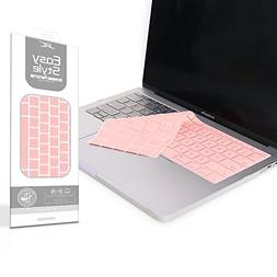 Sakura Pink Silicone Keyboard Cover for New Pro 13 inch No T