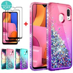 For Samsung Galaxy A20S Bumper Protective Ultra Slim Case Co