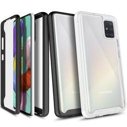 For Samsung Galaxy A51 Case Ultra Slim Built-In Screen Prote