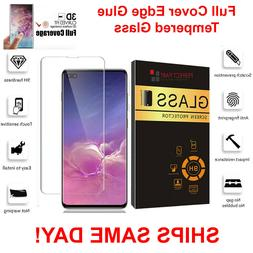 For Samsung Galaxy S10e S10 PLUS Full Cover 3D Tempered Glas
