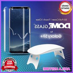 Samsung Galaxy S9 Plus Tempered Glass Shield Dome Glass Whit