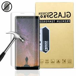 For Samsung Galaxy S9 S8+ Note 8 9 Full Cover Tempered Glass