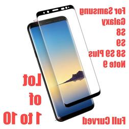 Samsung Galaxy S9 S8 Plus Note 9 5D Full Cover Tempered Glas
