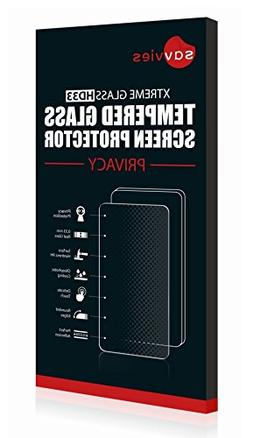 Savvies Xtreme Tempered Glass Privacy Screen Protector for A