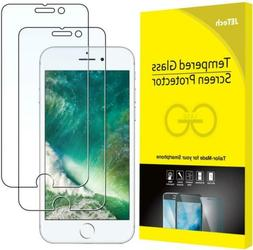 JETech Screen Protector for Apple iPhone 8 Plus and 7 Plus,