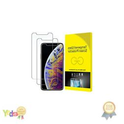 Screen Protector for Apple iPhone Xs and iPhone X, Tempered