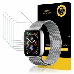 6 Pack LK Anti Bubble HD Screen Protector for Apple Watch Se