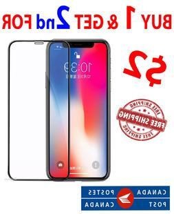 SCREEN PROTECTOR PREMIUM TEMPERED GLASS 9H FOR IPHONE X  3D