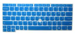 Semi-Blue Ultra Thin Silicone Keyboard Protector Skin Cover