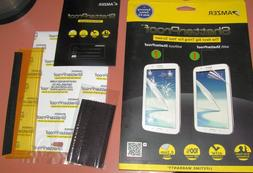 Amzer Shatterproof PET film screen protector Samsung Galaxy
