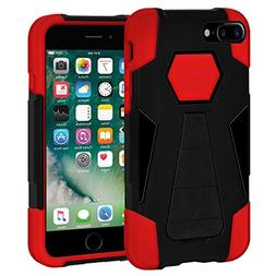 AMZER Slim Dual Layer Hybrid Kickstand Case Skin for Apple i