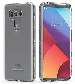 PureGear Slim Shell Case for LG V30 - Clear