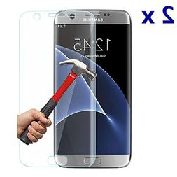 2x Soft S7 Edge Screen Protector,Nacodex® Samsung Galaxy S7