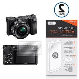 Sony Alpha a6500 Screen Protector, BoxWave ] Anti-Fingerprin